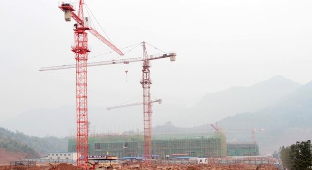 香港力源笔电配套项目施工现场