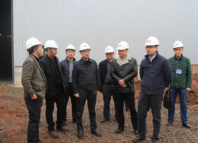 宋葵同志率队调研经济园区重点项目推进情况